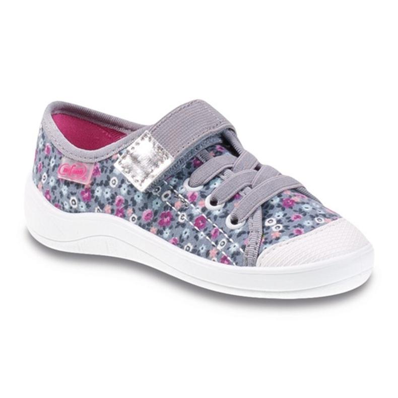 Dječje cipele Befado 251X087 ružičasta siva