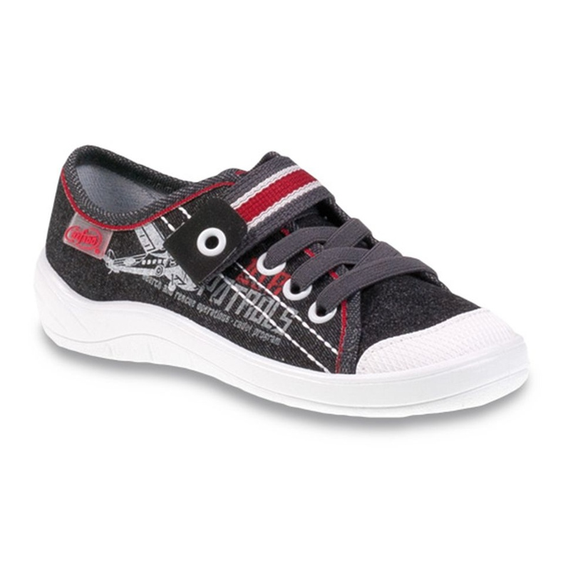 Dječje cipele Befado 251Y091 crvena siva