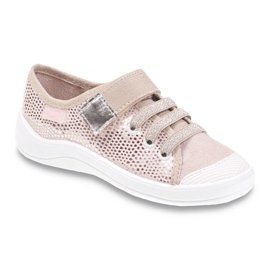 Dječje cipele Befado 251Y089 ružičasta siva