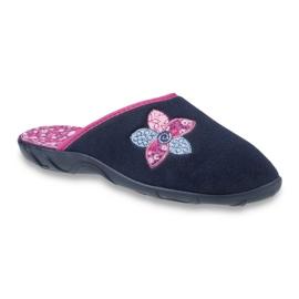 Ženske cipele u boji Befado 235D154 mornarica