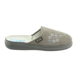 Szürke Befado női cipő pu 132D013