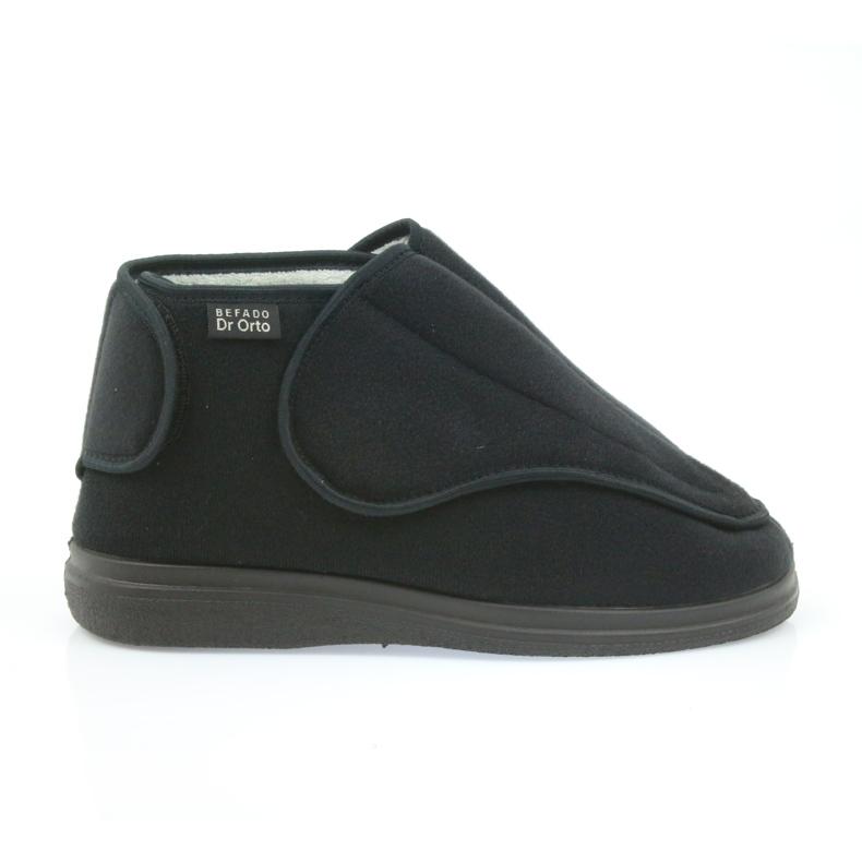 Befado ženske cipele pu orto 163D002 crna