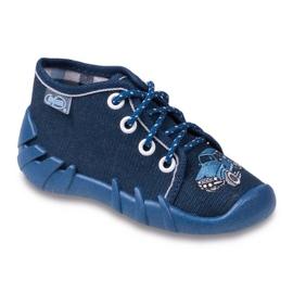 Haditengerészet Befado sötétkék gyermekcipő 130P058