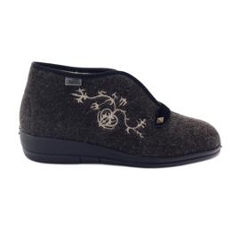 Befado ženske cipele pu 031D027 smeđ