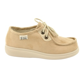 Befado ženske cipele pu 871D007 smeđ