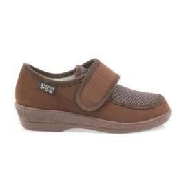 Befado ženske cipele pu 984D010 smeđ