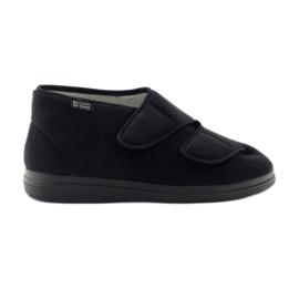 Fekete Befado női cipő pu 986D003