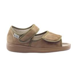 Befado ženske cipele pu 989D003 smeđ