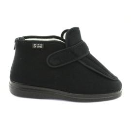 Fekete Befado női cipő pu orto 987D002
