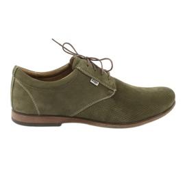 Zöld Riko férfi alkalmi cipő 777D