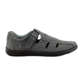 Szürke Riko férfi cipő szandál 851