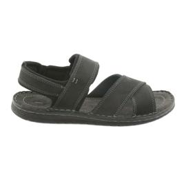 Crna Muške sandale Riko 852 sportske cipele