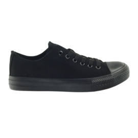 DK Cipők kötött fekete