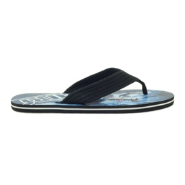American Club Američke muške papuče SURF crna