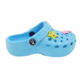 American Club Crocsy japanke plave američke plava