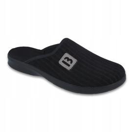 Fekete Befado férfi cipő pu 548M015