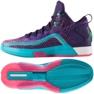 Košarkaške cipele adidas John Wall 2 Boost Prime Knit M D70028 purpurna boja ljubičasta, ružičasta