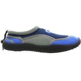Neoprenske cipele za plažu Aqua-Speed Jr. mornarsko-siva