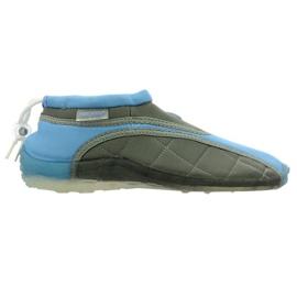 Neoprenske cipele za plažu Aqua-Speed Jr. plavo-sive