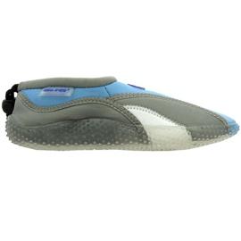 Aqua-Speed Jr. neoprén strandcipő szürke