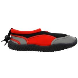 Aqua-Speed Jr piros neoprén strandcipő