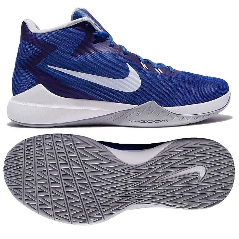 Košarkaške cipele Nike Air Precision M plava