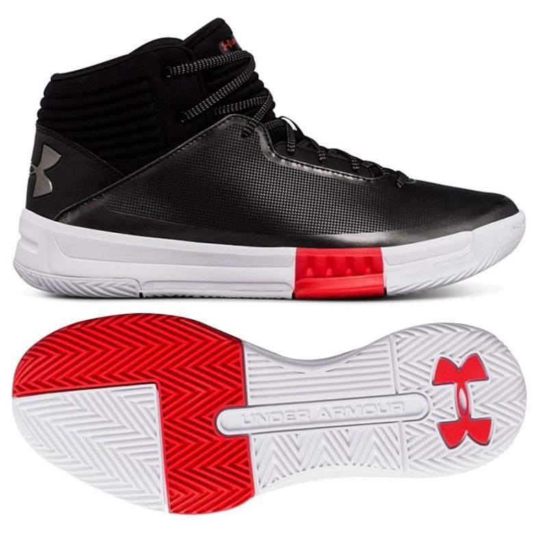 Under Armour Košarkaške cipele pod sigurnosnim oklopom 2 crna