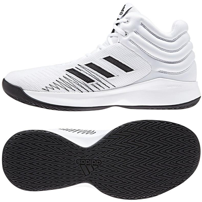 Košarkaške cipele adidas Pro Sprak 2018 M B44966 bijela bijela