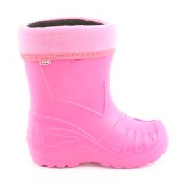 Rózsaszín Befado gyermekcipő baba cipő 162P101