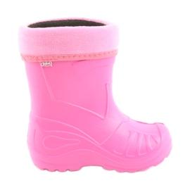 Roze Befado dječja obuća kalosz- róż 162X101