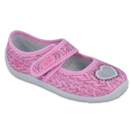 Rózsaszín Befado gyermekcipők 945X325