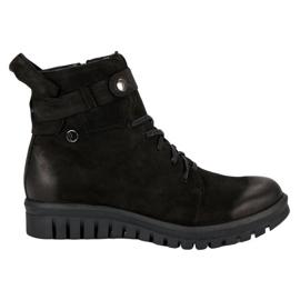 Crne čizme od VINCEZA Workers crna
