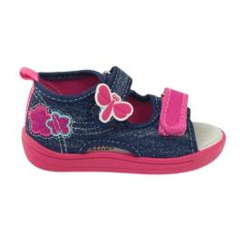 American Club Američke dječje cipele sandale od leptir kože