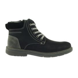McKey Čizme za muškarce, crne, svezane 288