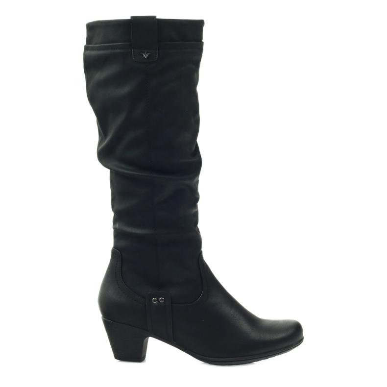 Čizme crne super udobne Aloeloe crna