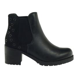 Zimske čizme crne Sergio Leone 527 crna
