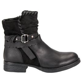 SDS crna Crne radničke čizme