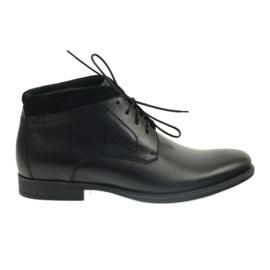 Crna Muške zimske čizme Pilpol 2194 crne