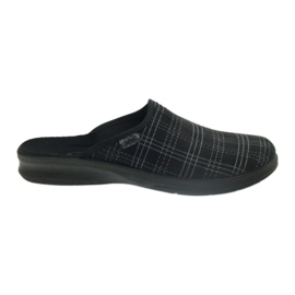 Fekete Befado férfi cipő papucs 548m011 papucs