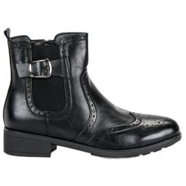 Filippo Crne čizmpurove čizme crna