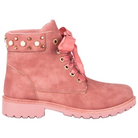 McKey roze Pink casual trappers