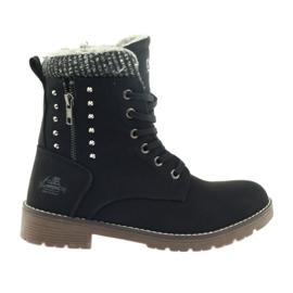 DK crna Drvene čizme na crno
