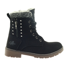 DK Drvene čizme na crno crna