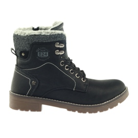 Crne cipele s vezom DK2025 crna
