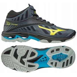 Odbojkaške cipele Mizuno Wave Lighting Z4 Mid M V1GA180547 siva grafita