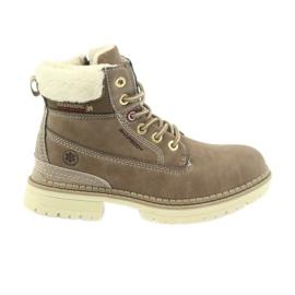 American Club smeđ Američke čizme čizme zimske čizme 708122