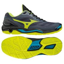 Mizuno Wave Stealth VM X1GA180047 rukometne cipele siva crna