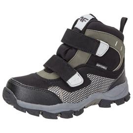 Téli cipő 4f Jr HJZ18-JOBMW002 fekete