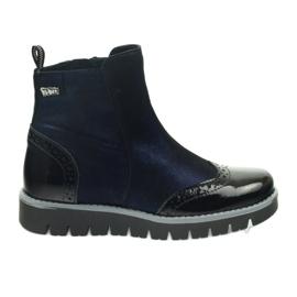 Ren But Meleg csizma Ren Boot 4379 sötétkék