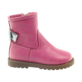 Čizme s ružičastim lukom Bartuś 317